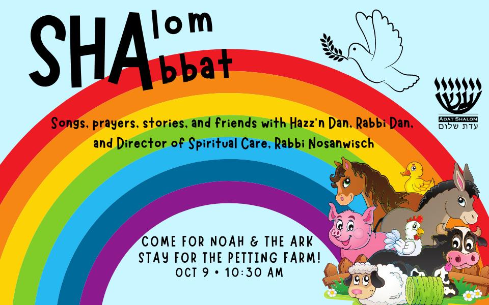 Shalom Shabbat Noach