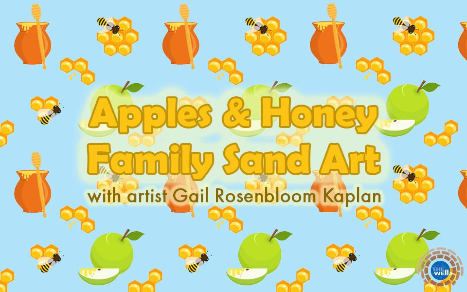 Apples & Honey Family Sand Art