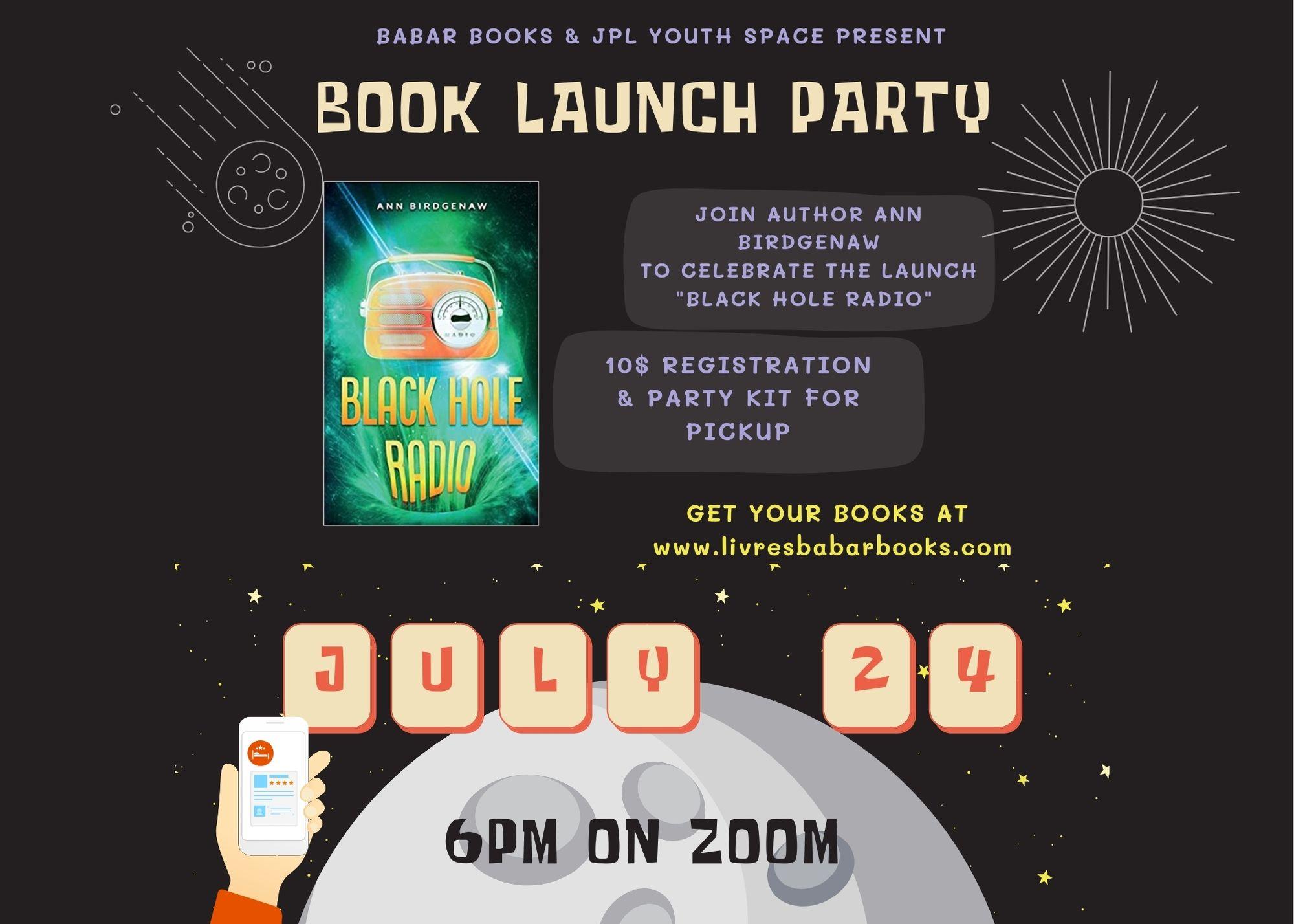 """Black Hole Radio"" Book Launch"