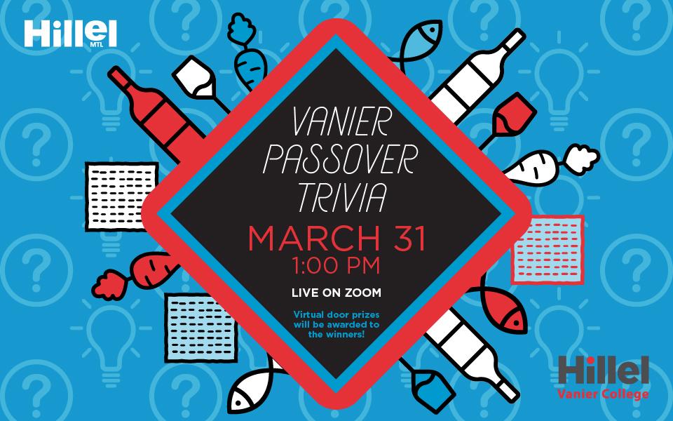 Vanier Passover Trivia
