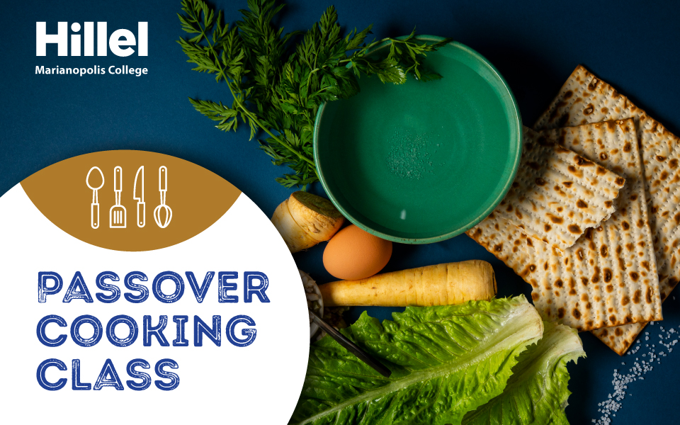 Hillel Marianopolis Passover Cooking Class