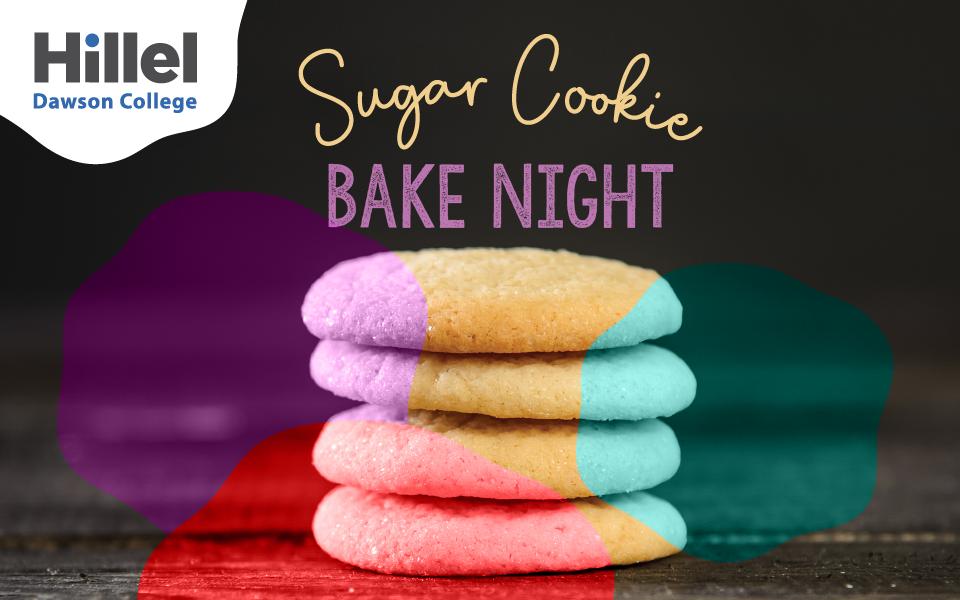 Hillel Dawson Cookie Bake Night