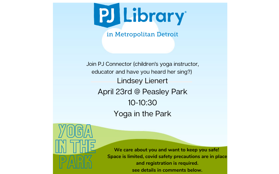 PJ Library Playdate: Yoga in the Park