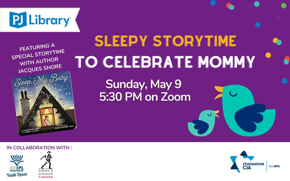 Sleepy Storytime to Celebrate Mommy