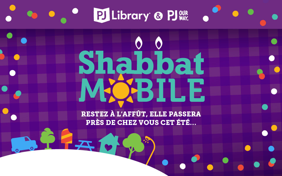 Shabbat Mobile de PJ Library