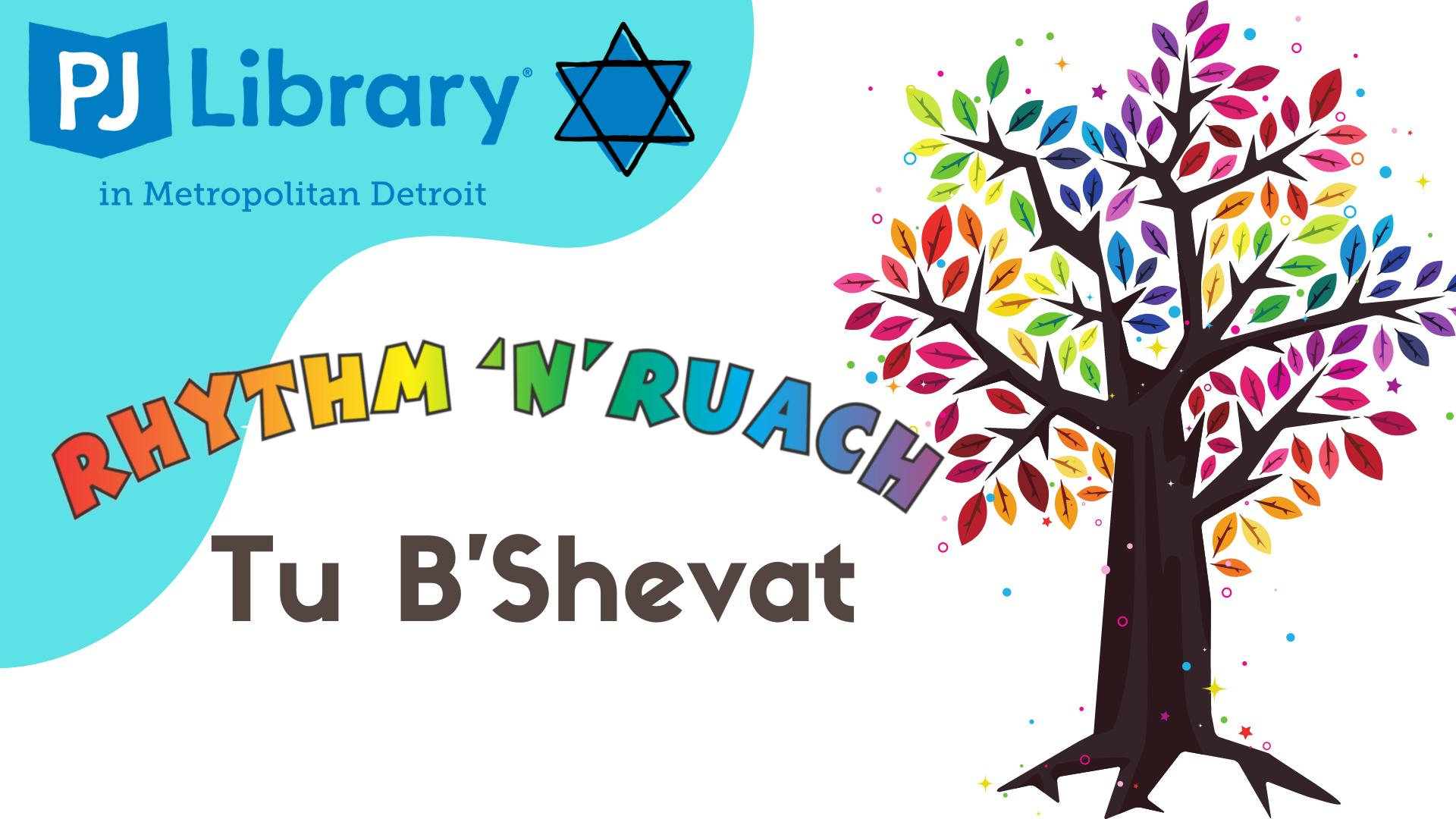 Rhythm 'N Ruach Tu B'Shevat presented by PJ Library Detroit