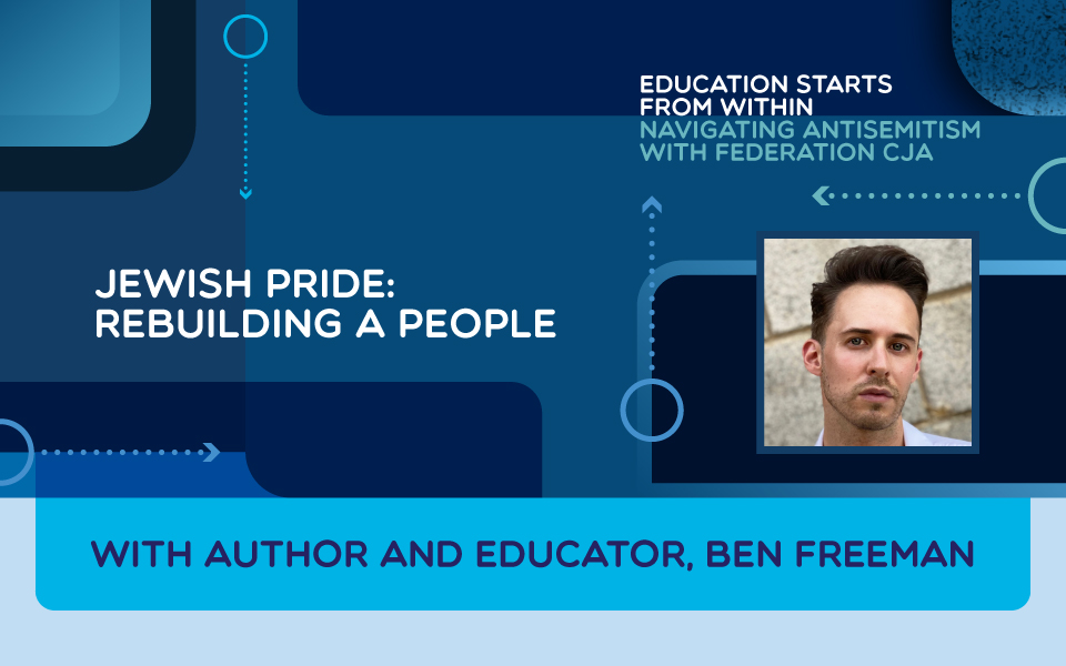 Jewish Pride: Rebuilding a People
