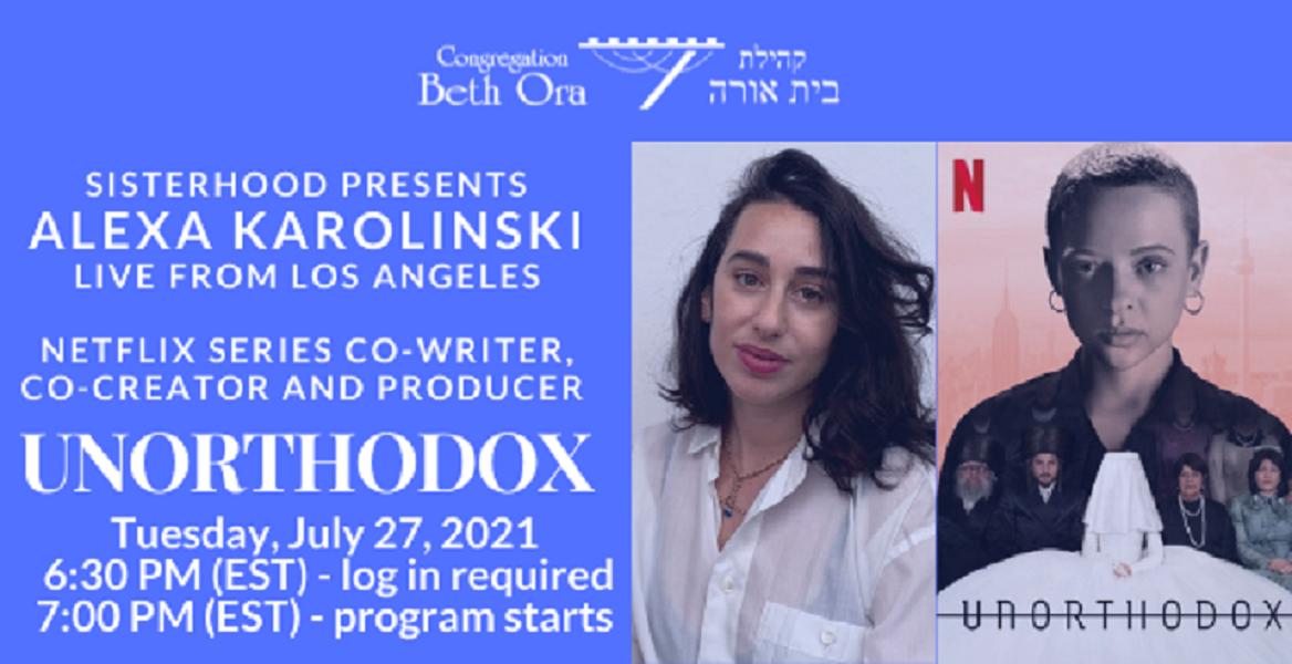 Sisterhood presents Alexa  Karolinski Live from LA