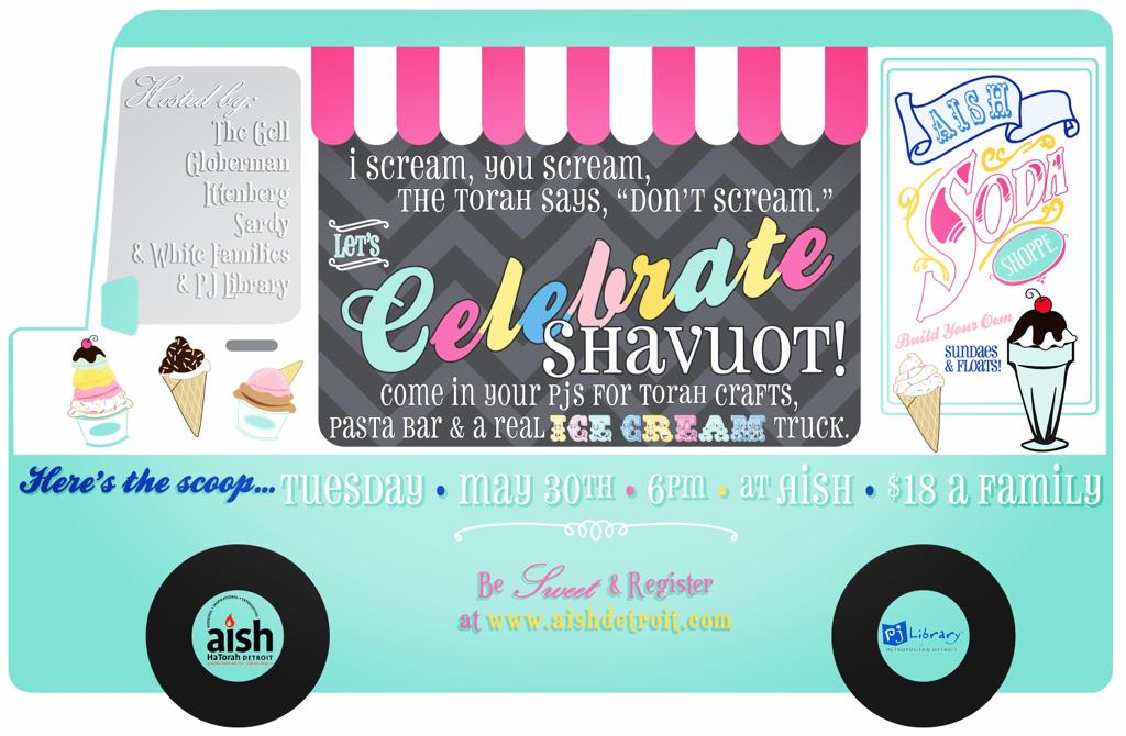 Shavout Box and Ice Cream Truck