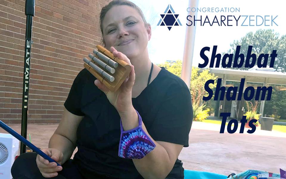 Shabbat Shalom Tots